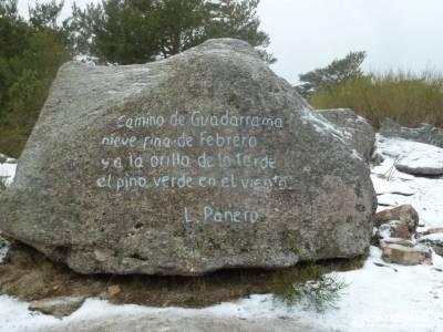 Hiking Calzada Romana de Cercedilla; cañones del sil aldeas abandonadas salir por madrid puente